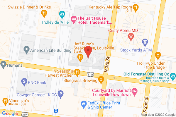 Mapped location of Jeff Ruby's Steakhouse Louisville