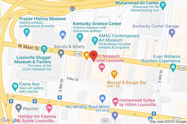 Mapped location of Luigi's Pizzeria