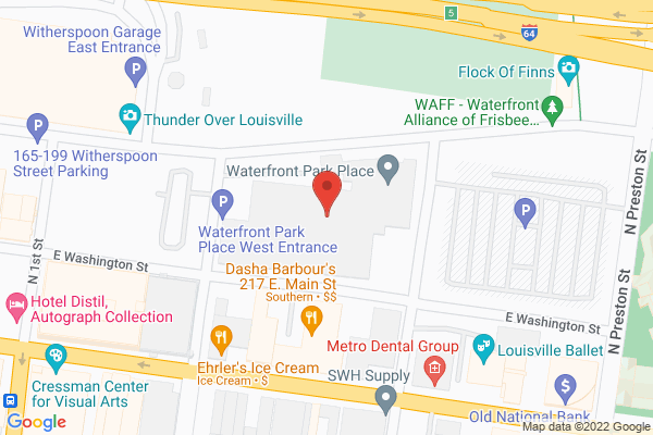 Mapped location of Waterfront Wine and Spirits