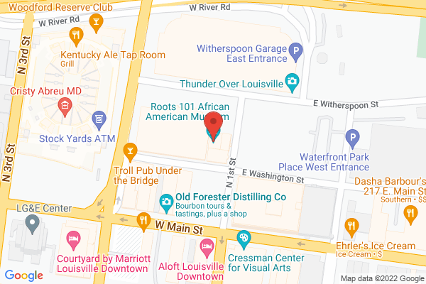 Mapped location of MaxwellSounds Presents: Roots 101 Poetry Slam