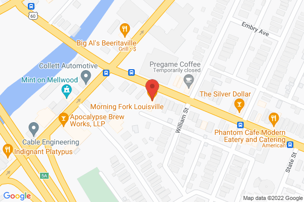 Mapped location of Morning Fork Louisville