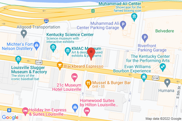 Mapped location of Main Eatery