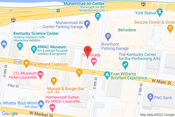 Mapped location of Compass Creative