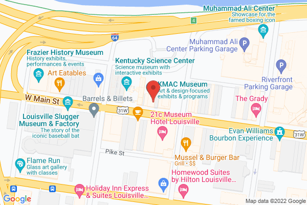 Mapped location of KMAC Museum
