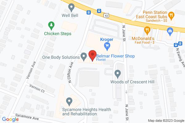 Mapped location of Louisville Folk School