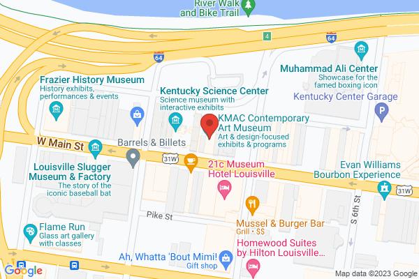 Mapped location of KMAC Museum Adult Workshop: Decorative Macrame Plant Hanger Workshop
