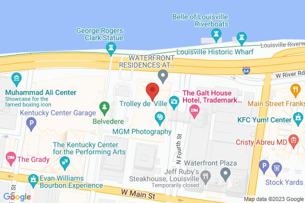Mapped location of Jockey Silks Bourbon Bar