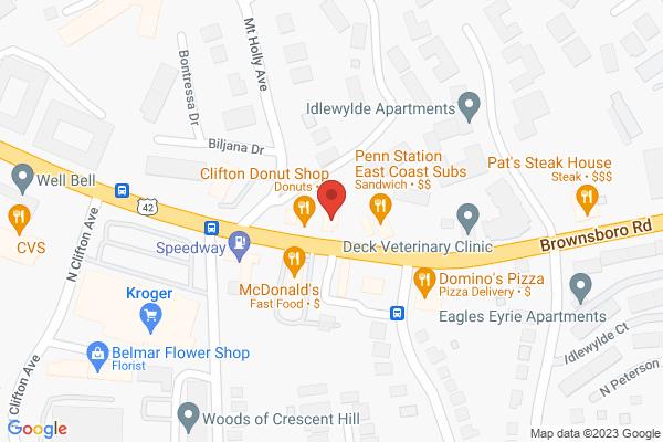 Mapped location of Chik'n & Mi