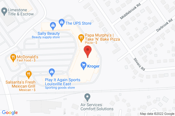 Mapped location of Pinot's Palette