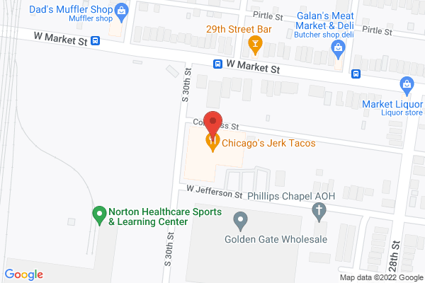 Mapped location of United Catering