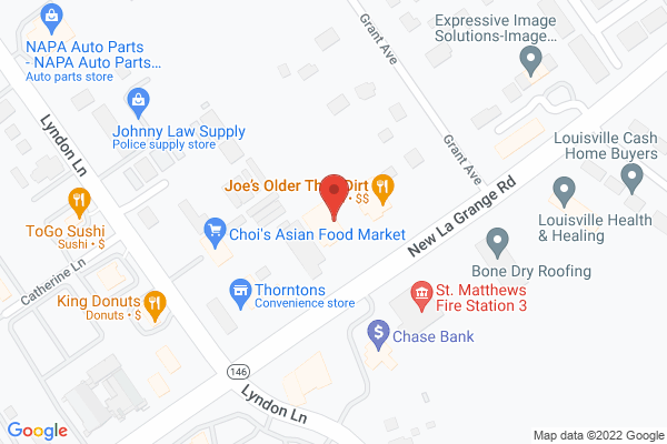 Mapped location of CBD Hemp Oil