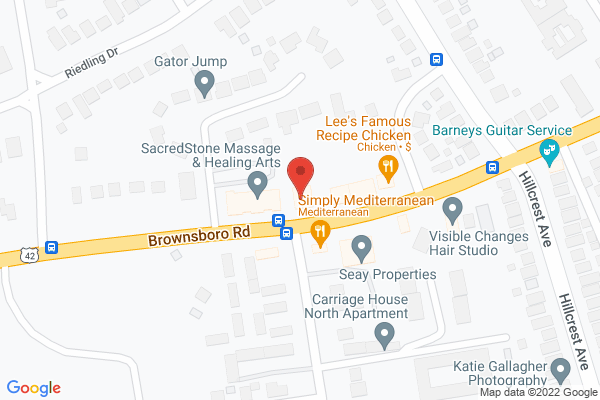 Mapped location of Ricky B's Club Cafe