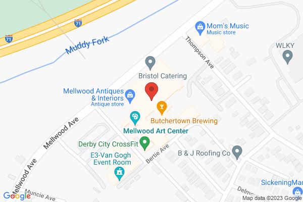 Mapped location of LOOK: Louisville Art