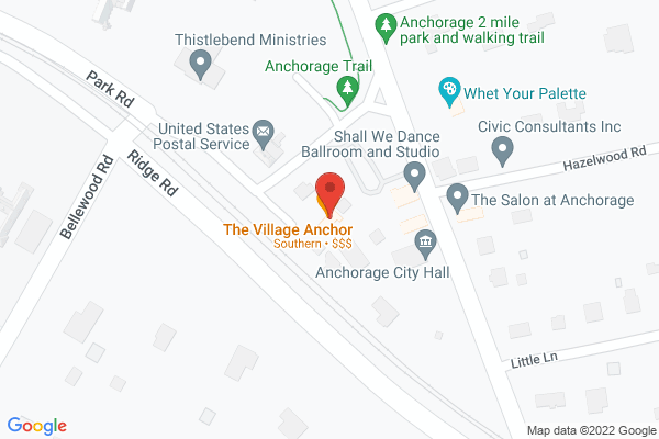 Mapped location of Village Anchor Pub & Roost, The
