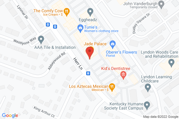 Mapped location of Jade Palace