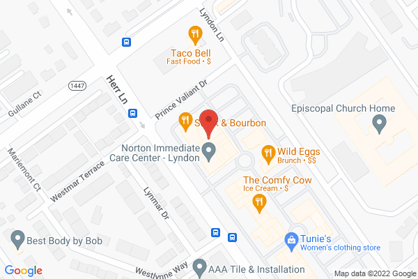 Mapped location of Steak & Bourbon