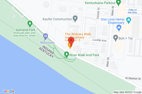 Mapped location of The Widows Walk Ice Creamery & Bicycle Rentals