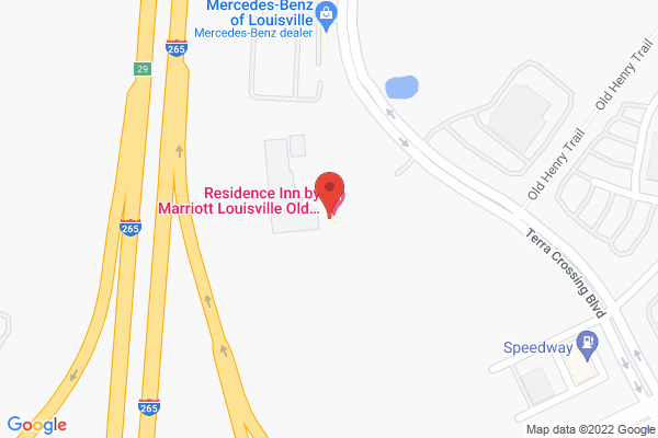 Mapped location of Residence Inn by Marriott Louisville Old Henry