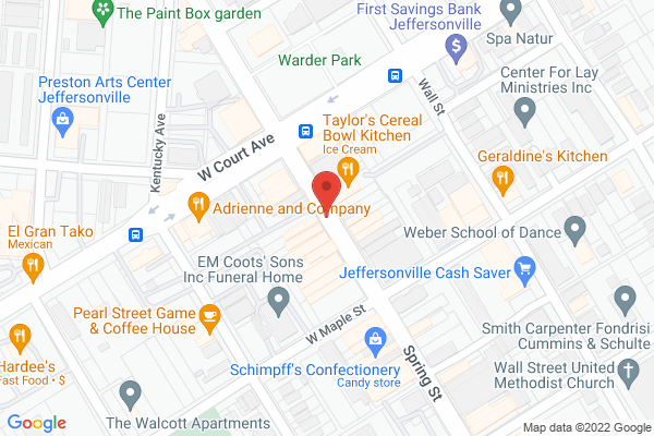 Mapped location of Come Back Inn