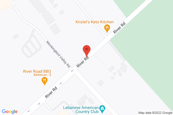 Mapped location of Levee Bourbon Lounge