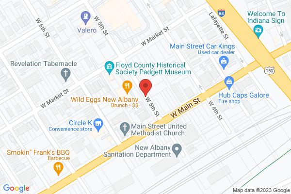 Mapped location of Daisy Mae's