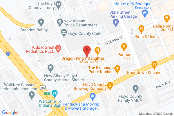 Mapped location of Sellers Expositions