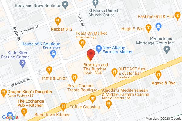 Mapped location of Habana Blues Tapas Restaurant