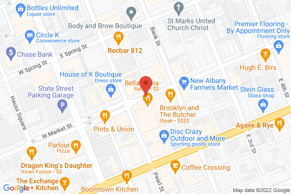 Mapped location of Quill's Coffee Shop