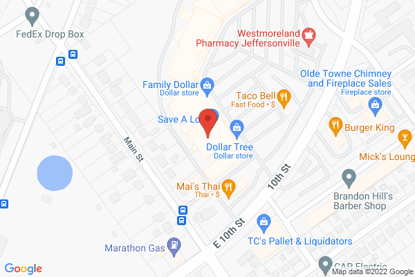 Mapped location of Mai's Thai Restaurant