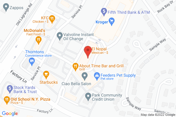 Mapped location of Brix Wine Bar