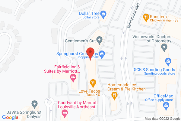 Mapped location of Fuji Japanese Steakhouse