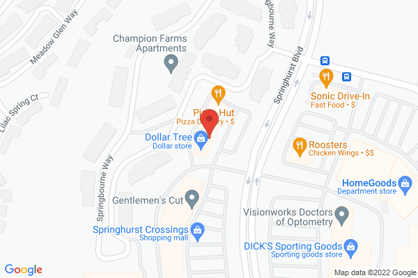 Mapped location of Homemade Ice Cream & Pie Kitchen