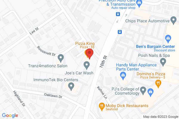 Mapped location of JJ Fish & Chicken