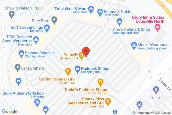 Mapped location of Martini Italian Bistro