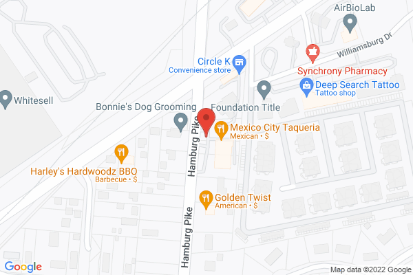 Mapped location of Harley's Hardwoodz Bar-B-Q