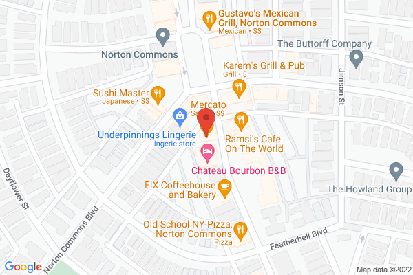 Mapped location of Lulubelles Boutique