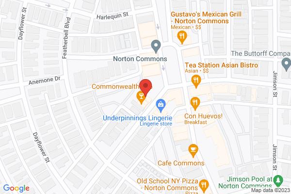 Mapped location of Sushi Master