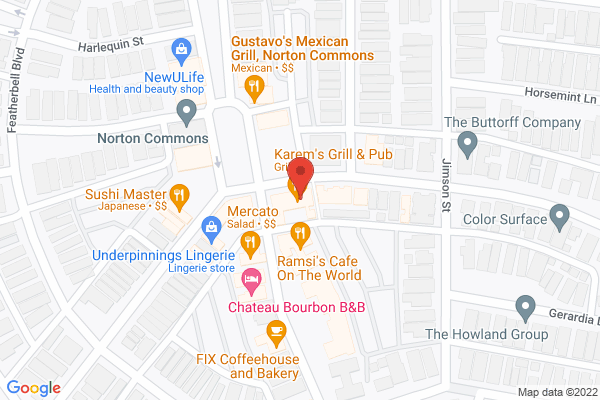 Mapped location of Something Blue