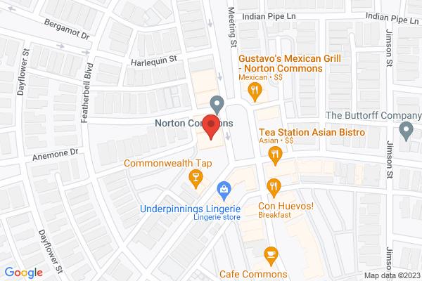 Mapped location of Fleur de Tea