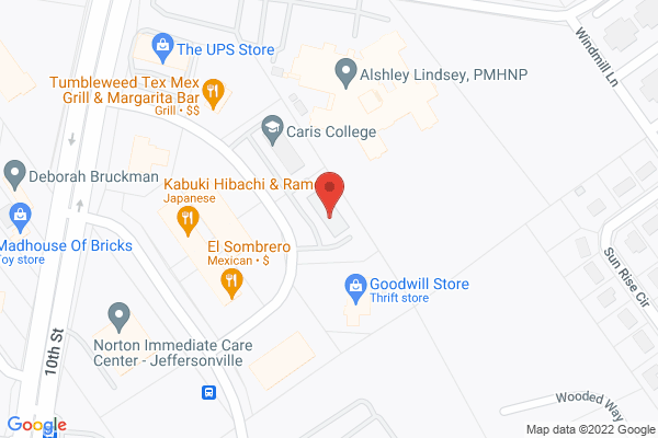 Mapped location of Star Sushi