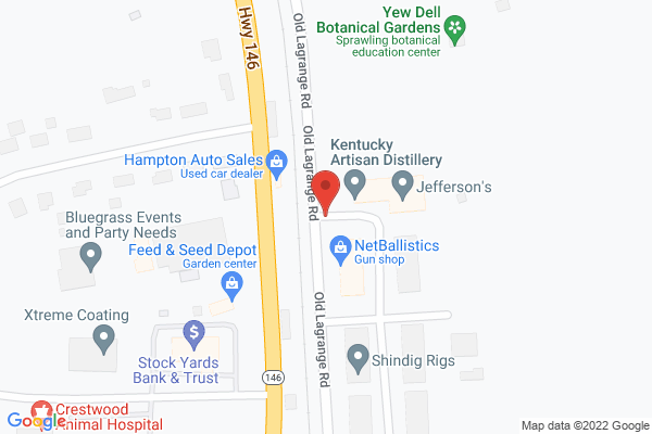 Mapped location of Kentucky Artisan Distillery