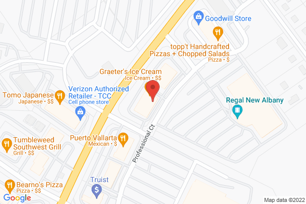 Mapped location of Cluckers Wings