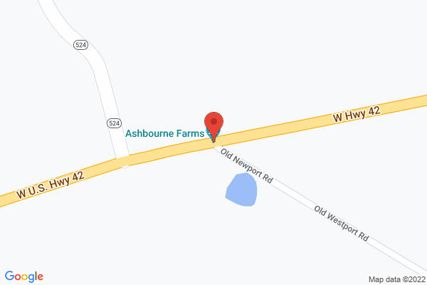 Mapped location of Ashbourne Events