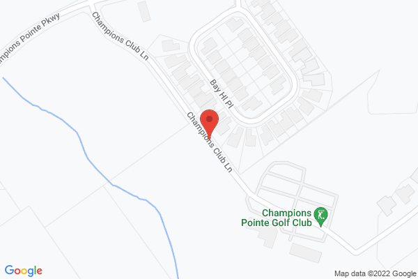 Mapped location of Fuzzy Zoeller's Champions Pointe Golf Club