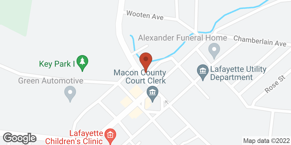 Google Map of Adoration Home Health – Lafayette, Tennessee