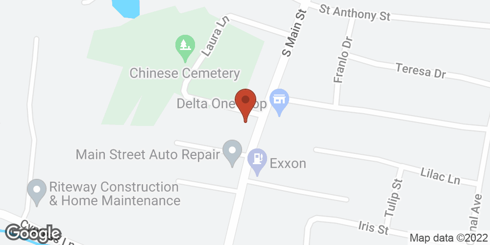 Google Map of Adoration Home Health – Greenville, Mississippi
