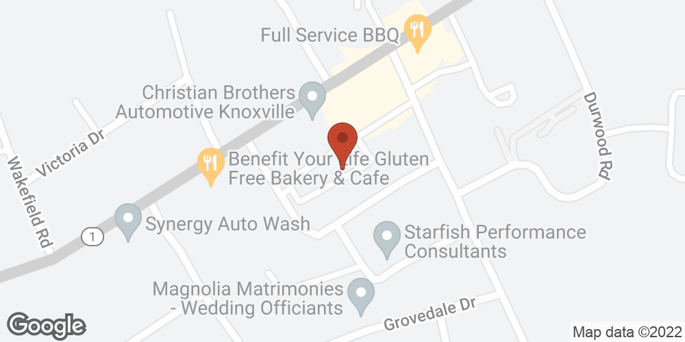 Google Map of Adoration Home Health – Knoxville, Tennessee