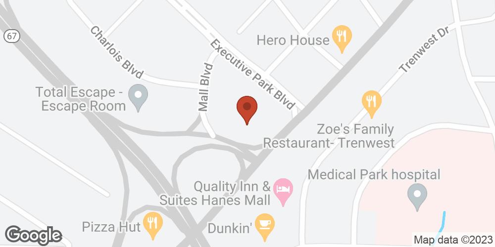 Google Map of Advanced Home Health – Winston-Salem