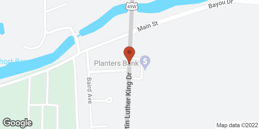 Google Map of Adoration Home Health – Indianola, Mississippi