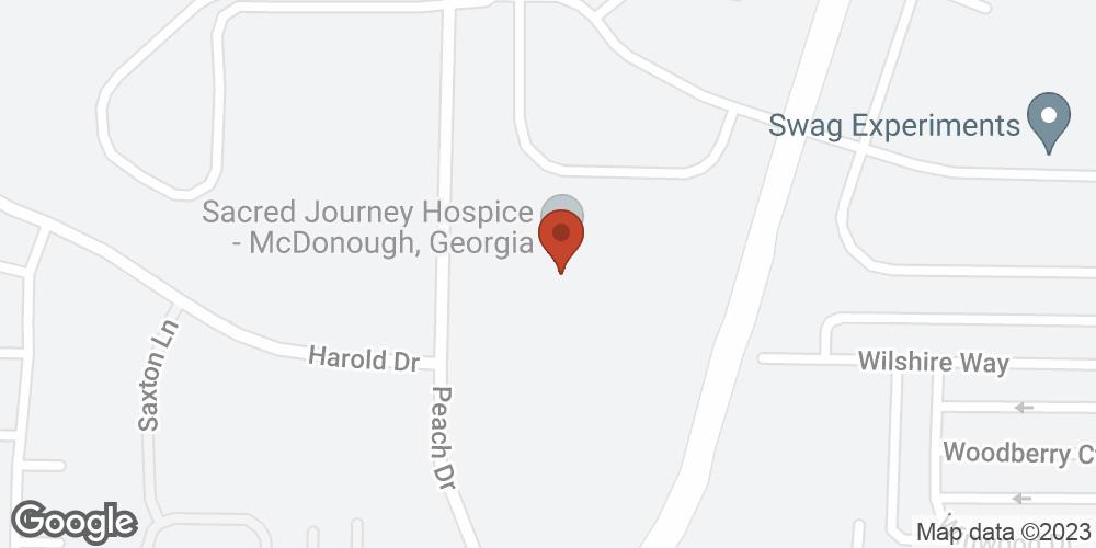 Google Map of Sacred Journey Hospice – McDonough